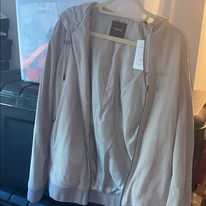 Theory Maeson Suede jacket NWT